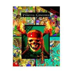 PIRATES DES CARAIBES - CHERCHE ET TROUVE GEANT