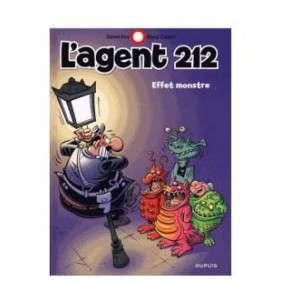 L'AGENT 212 VOL 28, EFFET MONSTRE