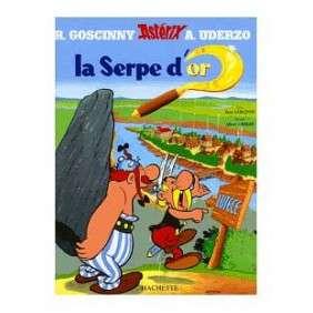 LA SERPE D'OR ASTERIX 2