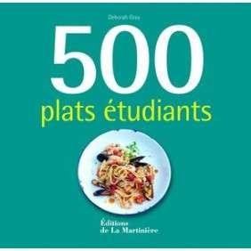 500 PLATS ETUDIANTS