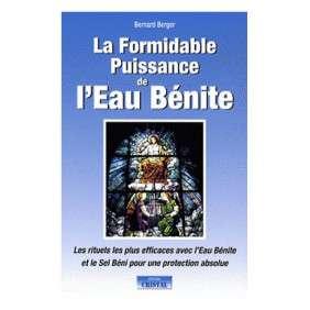 MANUEL D'UTILISATION DE L'EAU BENITE
