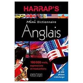 DICTIONNAIRE HARRAP'S MINI ANGLAIS