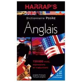 DICTIONNAIRE HARRAP S POCHE ANGLAIS