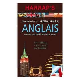DICTIONNAIRE HARRAPS DEBUTANT ANGLAIS FRANCAIS