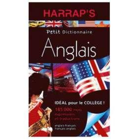 DICTIONNAIRE HARRAP'S DICTIONNAIRE PETIT ANGLAIS