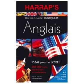 DICTIONNAIRE HARRAP'S DICTIONNAIRE COMPACT ANGLAIS
