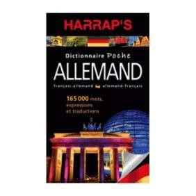 DICTIONNAIRE HARRAP'S POCHE ALLEMAND