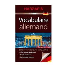 HARRAP'S VOCABULAIRE ALLEMAND