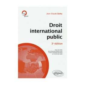 DROIT INTERNATIONAL PUBLIC 3E EDITION