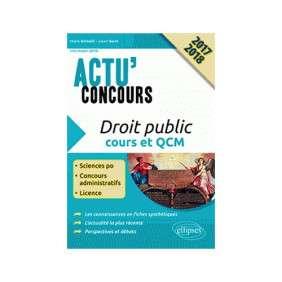 DROIT PUBLIC COURS ET QCM CONCOURS 2017/2018