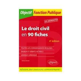 LE DROIT CIVIL EN 90 FICHES 4E EDITION LES MEMENTOS
