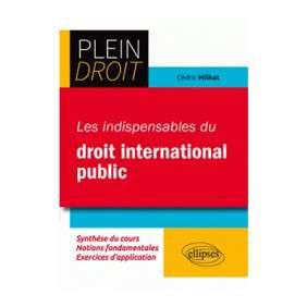 LES INSDISPENSABLES DU DROIT INTERNATIONAL PUBLIC
