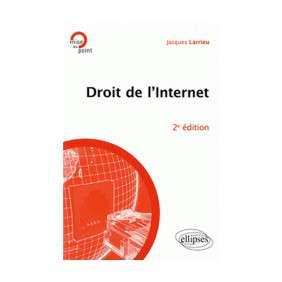DROIT DE L'INTERNET 2EME EDITION