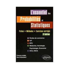 L'ESSENTIEL DES PROBALITES ET STATISTIQUES 2E EDITION