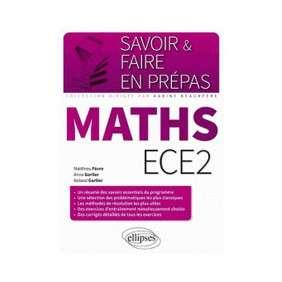 MATHS ECE2 UN RESUME DES SAVOIRS ESSENTIELS DU PROGRAMME