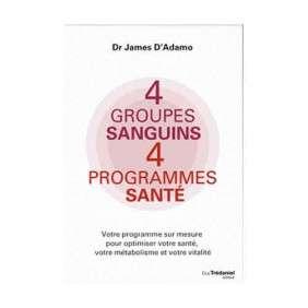 4 GROUPES SANGUINS 4 PROGRAMME SANTE