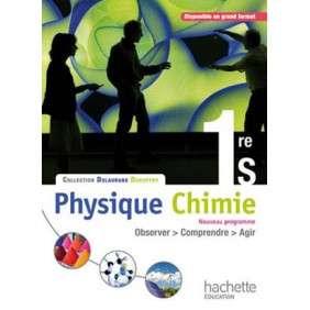 PHYSIQUE-CHIMIE 1RE S - LIVRE ELEVE FORMAT COMPACT - EDITION 2011
