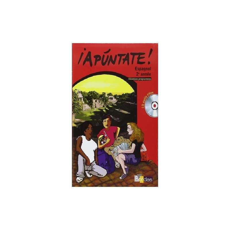 MANUEL + CD IAPUNTATE ESPAGNOL 2EME ANNEE + CD AUDIO ELEVE