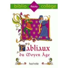 BIBLIOCOLLEGE - FABLIAUX DU MOYEN AGE ED 2015