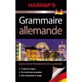 HARRAP'S GRAMMAIRE ALLEMAND NE