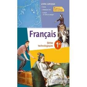 FRANCAIS 1RES SERIES TECHNOLOGIQUES - LIVRE ELEVE - ED. 2014