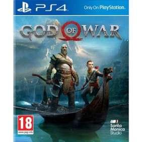 JEUX GOD OF WAR POUR PS4