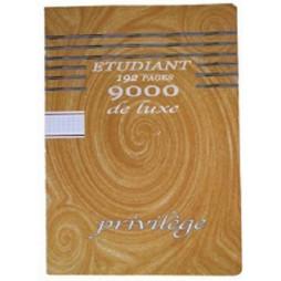 CAHIER ETUDIANT COLLE A4 192P Q5*5