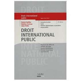 DROIT INTERNATIONAL PUBLIC 8ED
