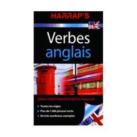 HARRAP'S VERBES ANGLAIS ED