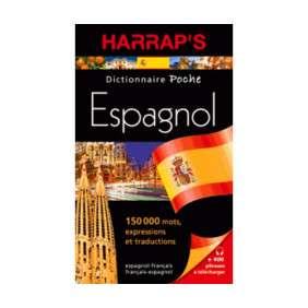 DICTIONNAIRE HARRAP S POCHE ESPAGNOL