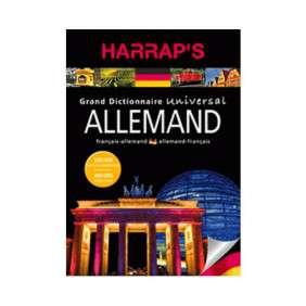 HARRAP'S UNIVERSAL ALLEMAND-Français