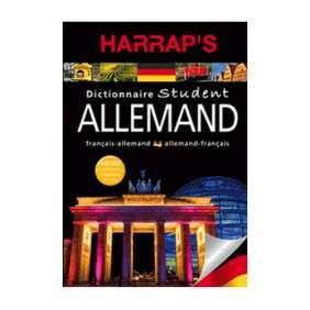 DICTIONNAIRE HARRAP'S STUDENT ALLEMAND