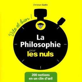 PHILOSOPHIE POUR LES NULS
