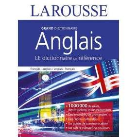 DICTIONNAIRE LAROUSSE GRAND FORMAT ANGLAIS FRANCAIS 2018