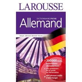 DICTIONNAIRE LAROUSSE DE POCHE ALLEMAND NVLLE
