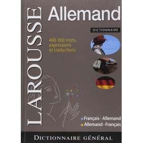 DICTIONNAIRE GENERAL FRANCAIS-ALLEMAND/ALLEMAND-Français