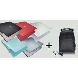 ORDINATEUR PORTABLE ASUS 15 DUAL CORE N3350 4GB/500GB/ FDOS ASSORTI + SAC A DOS + SOURIS