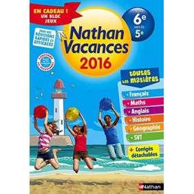 CAHIER DE VACANCES 2016 TOUT EN UN 6E/5E