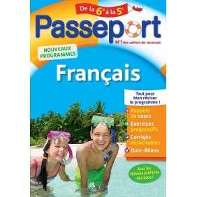PASSEPORT-FRANCAIS DE LA 6E A LA 5E PARASCOL