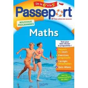 PASSEPORT-MATHS DE LA 6E A LA 5E ROUSSEAU-PARASCOL