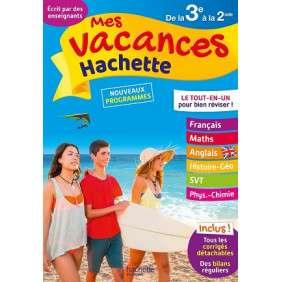 MES VACANCES HACHETTE 3E 2NDE PARASCOL