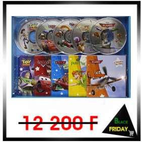 CARS, PLANES & CIE, COFFRET 5 LIVRES + CD