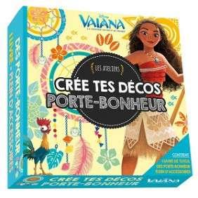 VAIANA - LES ATELIERS DISNEY - COFFRET CREE TES DECOS PORTE-BONHEUR