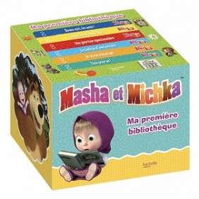 MASHA ET MICHKA- MA PREMIERE BIBLIOTHEQUE