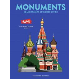 MOUVEMENTS - 40 MONUMENTS DU MONDE ENTIER