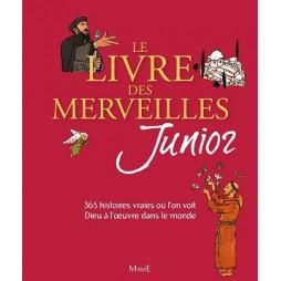 LE LIVRE DES MERVEILLES JUNIOR - NOUVELLE COUVERTURE