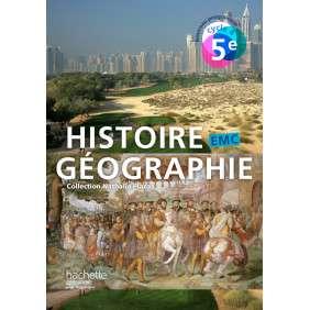 HISTOIRE-GEOGRAPHIE-EMC CYCLE 4 / 5E - LIVRE ELEVE - ED. 2016