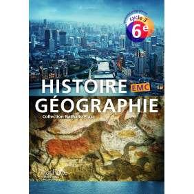 HISTOIRE-GEOGRAPHIE-EMC CYCLE 3 / 6E - LIVRE ELEVE - ED. 2016