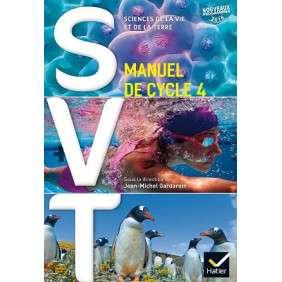 SVT CYCLE 4 ED. 2016 - MANUEL DE L'ELEVE