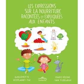 EXPRESSIONS SUR LA NOURRITURE RACONTEES ET EXPLIQUEES AUX ENFANTS